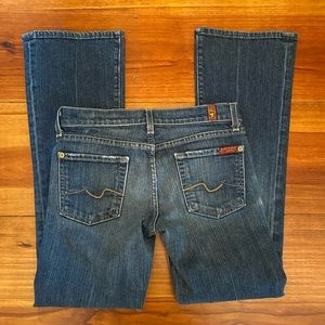7 For All Mankind 'flip flop bootcut' Jeans Sz 25